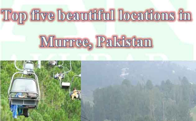 Top-five-beautiful-locations-in-Murree,-Pakistan