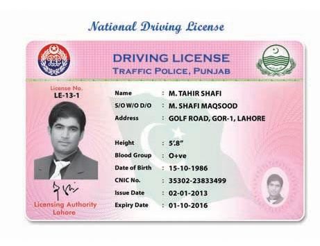 How To Get HTV LTV Driving License In Pakistan