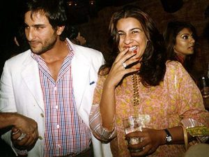 Amrita Singh & Saif Ali Khan