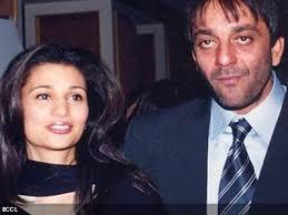Rhea Pillai & Sanjay Dutt