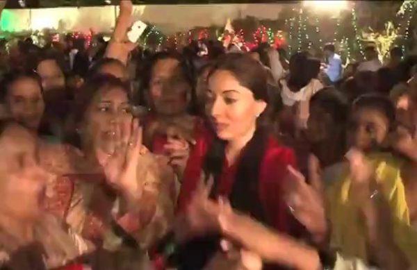 Sharmila Farooqi dance PPP jalsa