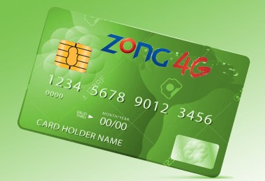 Zong Prepaid Credit Card