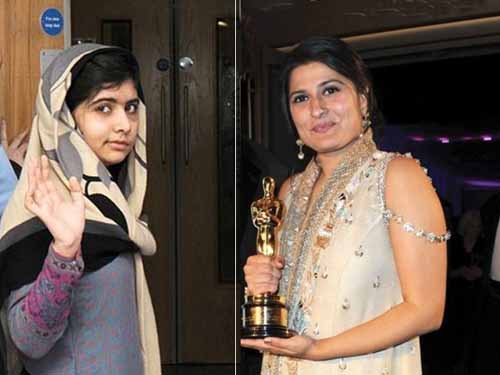 Malala and Sharmeen Obaid