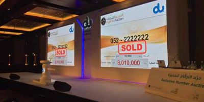 Special Number Auction