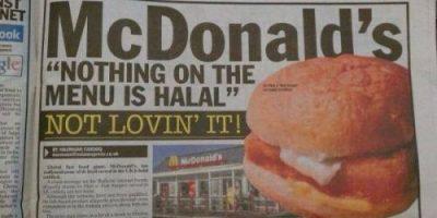 McDonald Haram Meat