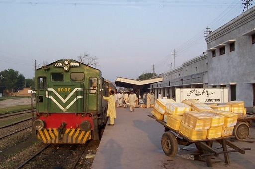 Allama Iqbal Express train