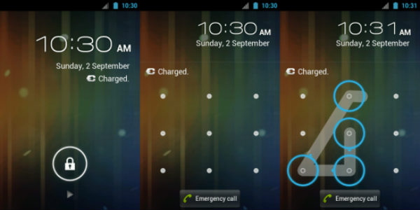 How to crack mobile lock code