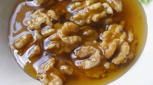 honey-walnut-mixture
