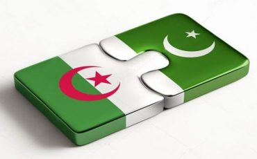 Pakistan Algeria Flag