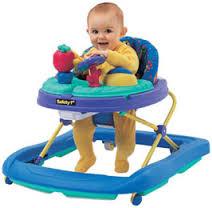 child in a walker