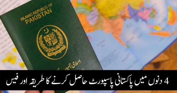 Pakistani Passport Fees For 5 Years & 10 Years