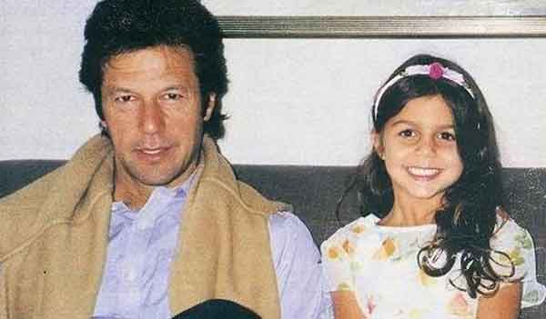 imran khan with daughter