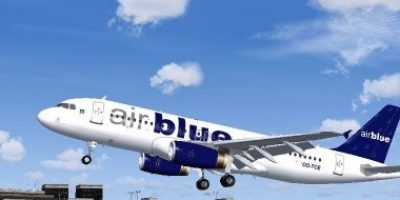 Airblue Plane