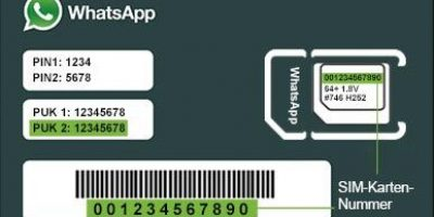 Whatsapp Sim Card
