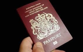 British Passport Pic