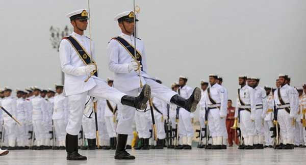 Pakistan navy parade