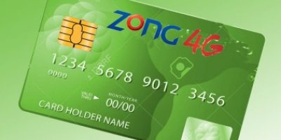 Zong Prepaid Credit Card