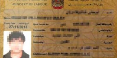 Dubai Labour Card