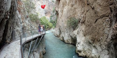 Saklikent Canyon