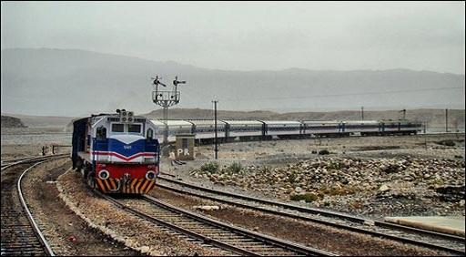 Jaffar Express Train