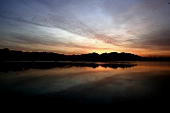 Indus-river-at-Kalabagh,-Mianwali,-Pakistan