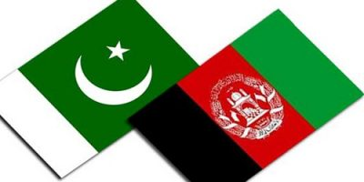 Pakistan and Afghanistan flag