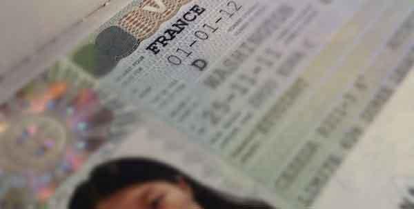 french visa passport