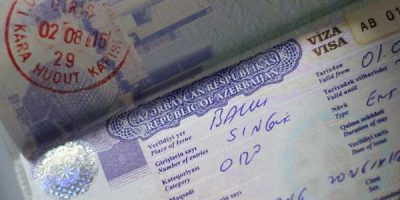 visa of republic of azerbaijan