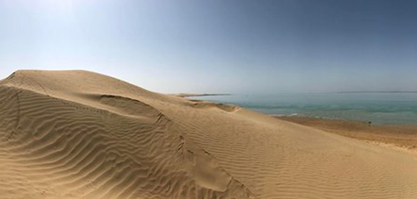 damb beach sonmiani