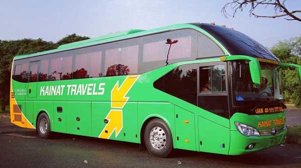 Kainat Travels Ticket Price Timing Phone Number Akhbar Nama