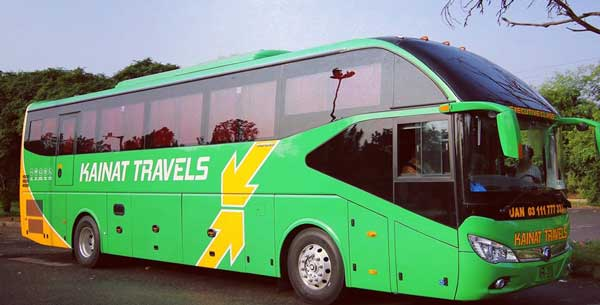 Kainat Travel Bus