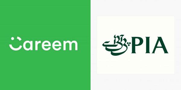 Careem & PIA logo