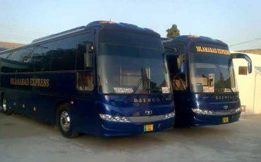 Islamabad Express Bus
