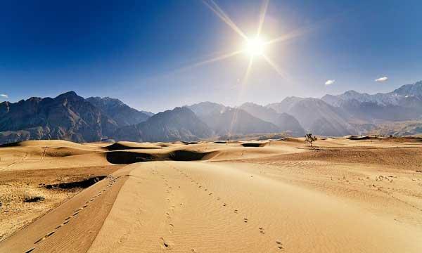 cold desert skardu