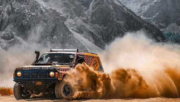 Skardu Desert Jeep Rally