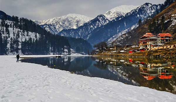 sharda valley snow