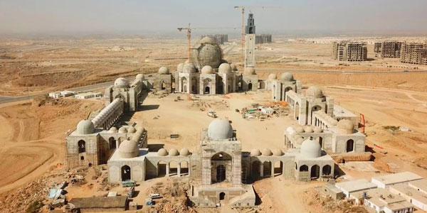 Jamia Masjid Bahria Town Karachi construction