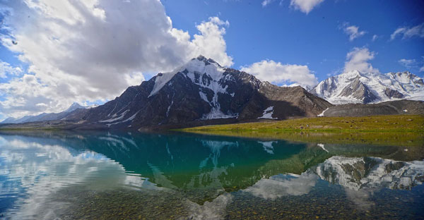 Broghil Valley lake
