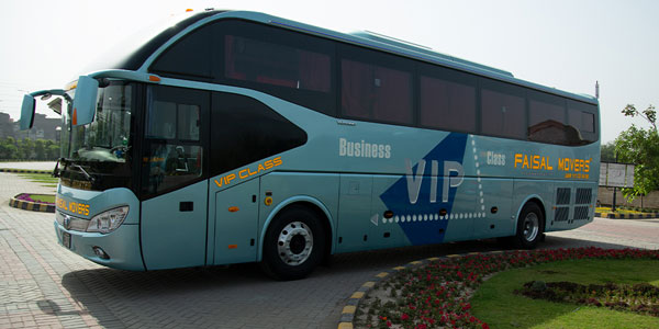 Faisal Movers Business Class Bus