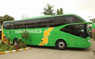 Kainat Travels fleet
