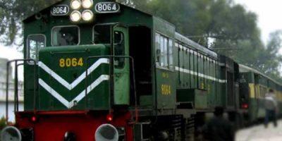 pakistani train engine