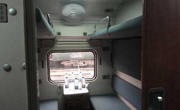 pakistani train cabin