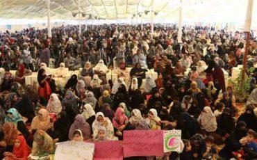women march pakistan